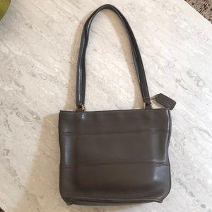 Vintage Coach Purse Bag - gray